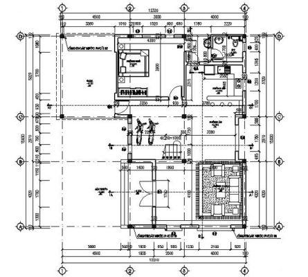 mặt bằng tầng 1